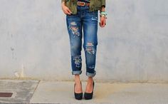 How to Distress Your Denim Like a Pro ==> http://www.craftdiyideas.com/how-to-distress-your-denim-like-a-pro/