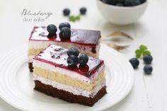 masam manis: Blueberry Slice Cake