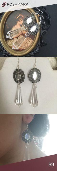 Pretty red chandelier costume jewelry earrings   Costume jewelry ...