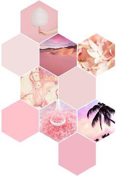 Cute Patterns Wallpaper, Geometric Wallpaper, Pink Wallpaper, Geometric Art, Cute Backgrounds, Wallpaper Backgrounds, Iphone Wallpaper, Scrapbook Stickers, Scrapbook Paper