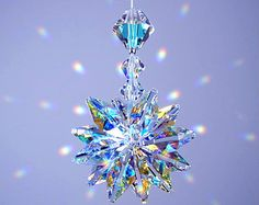 m/w Swarovski Crystal EMERALD GREEN and Siam от LilliHeartDesigns