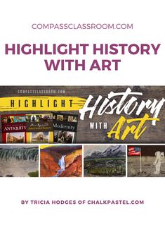 We are always excited to hear how homeschool families supplement Compass Classroom courses. Today we'd like to introduce you to our friend, Tricia Hodges, and how she not only supplemented History courses but started a small business offering art lessons. High School Curriculum, Homeschool Curriculum, Homeschooling, Learning Styles, Kids Learning, High School Art, Nature Study, Modern History, You Are Invited