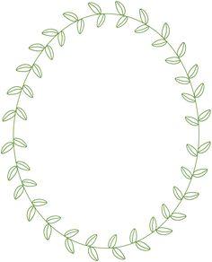Free Laurel Frames & Arrows Clip Art - StarSunflower Studio