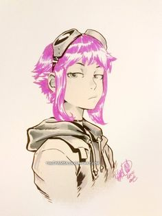 Ramona Flowers by theCHAMBA.deviantart.com on @deviantART