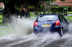Flooded Roads, Bmw, Vehicles, Rolling Stock, Vehicle