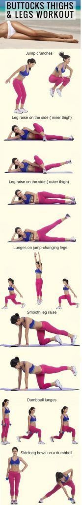 7 Simple Exercises for Perfect Buttocks, Thighs, and Legs.