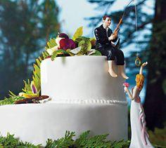 Tortenfigur INKL. WUNSCHHAARFARBE! Am Haken von Hochzeitideal auf DaWanda.com