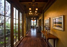 Summers Custom Multi-Width Hickory Flooring at the Pronghorn Club & Resort Clubhouse Greenwood Village, Hickory Flooring, Interior Architecture, Interior Design, Gate House, Rustic, Club, Architects, Golf