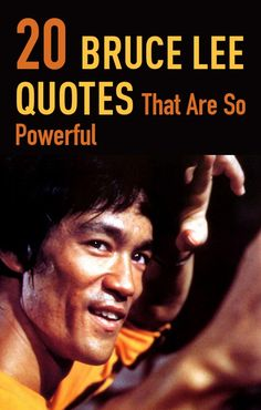 Bruce Lee the greatest figure of martial arts and an unforgettable cinema icon. Up to this day he is considered as a legend but did you know that he was a wise philosopher too? Here are our collection of the most powerful and wisest quotes by him.