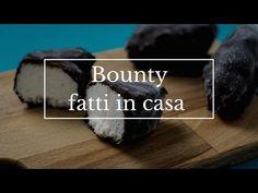 Bounty fatti in casa ricetta semplice e senza cottura con 3 ingredienti