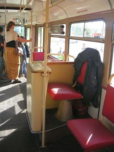 Stanoviště průvodčího v tramvaji Retro Vintage, Home Appliances, Chair, Furniture, Bratislava, Public Transport, Czech Republic, Home Decor, Hungary