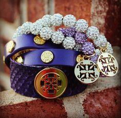 This is on my wish list! Purple Rain – Rustic Cuff