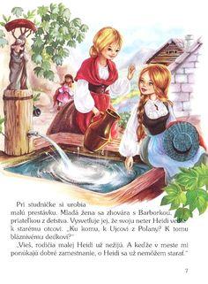 Heidi dievčatko z hôr (Marie-José Maury; Marie-José Maury) [SK] - Kniha - strana
