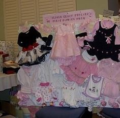 Ultimate baby girl shower gift: 1st fashion show!!!