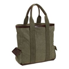 Pottery Barn Union Recycled Canvas Tote Bag ($69) ❤ liked on Polyvore featuring bags, handbags, tote bags, moss, travel purse, monogram canvas tote, monogrammed tote bags, travel tote and tote handbags