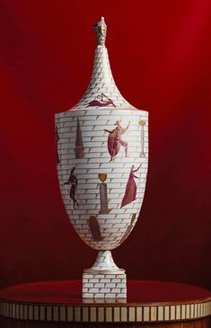 Gio Ponti (Italian, 1891–1979); Manufacturer: Richard-Ginori Porcelain; H. 19 3/4 in. (50.2 cm) Purchase, Edward C. Moore Jr. Gift, 1931