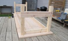 DIY Farm tables $75 love the look of these and we can build it for six instead of four