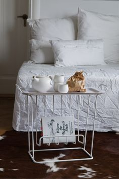 Minnie Mae Paper, side table