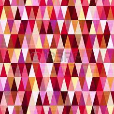 nahtlose abstrakte geometrische Muster Dreieck Stockfoto - 22386703