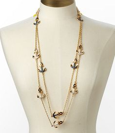 DOUBLE CHAIN NECKLACE - Lilly P
