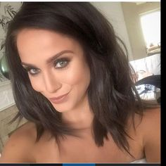 """""""OH MY!! Vicky Pattison has also gone short!! How gorgeous is this Long Bob?! We are majorly jealous!! Whose feeling brave? #judgegeordie #hairenvy…"""""""