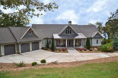 Mountain Ranch With Walkout Basement - 29876RL | Country, Craftsman, Mountain, Vacation, Photo Gallery, 1st Floor Master Suite, Butler Walk-in Pantry, CAD Available, Media-Game-Home Theater, PDF, Split Bedrooms, Sloping Lot | Architectural Designs
