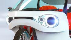 Moto Car, Design Language, Electric Power, Touring, Bike, Motorbikes, Bicycle, Bicycles