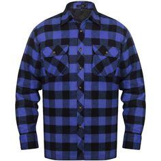 Herre polstret rutete flanellskjorter blå/svart XL , Holde ut kulden med en tykk polstret rutete flanell arbeidsskjorte. Den vil være ideelt som arbeidstøy eller for generelt friluftsliv.  kr575,75> 0% Rabatt  https://www.fyndpris.no/8131007-herre-polstret-rutete-flanellskjorter-blasvart-xl.html