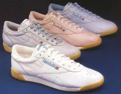 THE shoe to have in 1985. I had a gray pair, my mom thought they wouldn't show the dirt as easy!