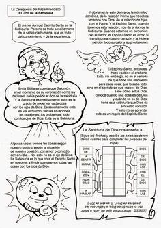 El Rincón de las Melli: La Catequesis del Papa Francisco: El Don de la Sabiduría
