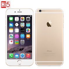 "Originale apple iphone 6 plus 4.7 & 5.5 ""telefoni cellulari Dual Core 64 GB/128 GB Rom IOS 8MP Macchina Fotografica 4 K video LTE 1080 P smartphone"