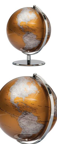 The world never looked so fabulous—and we're not just saying that. This is truly a magnificent find, as geography buffs will be in absolute orbit over the Axis Globe. On its own, it's a chic and stunni...  Find the Axis Globe, as seen in the Danish Modern Home in Belgium Collection at http://dotandbo.com/collections/danish-modern-home-in-belgium?utm_source=pinterest&utm_medium=organic&db_sku=114581