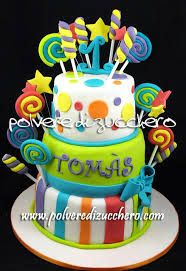 candy cake for the first birthday of a baby boy Candy Cakes, Cupcake Cakes, Ice Cream Candy, Sugar Art, Let Them Eat Cake, Beautiful Cakes, First Birthdays, Fondant, Cake Decorating