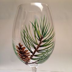 Hand Painted Wine Glasses For Wine Glass