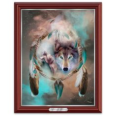 Awakening Dreams illuminated print Wall Decor featuring the art of Carol Cavalaris. 1st in this collectible limited-edition series offered by The Bradford Exchange.