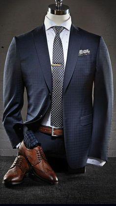 Professional menswear, sharp as a tack.   Raddest Men's Fashion Looks On The Internet: http://www.raddestlooks.org:
