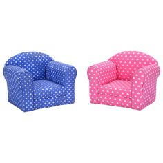 2 Color w/Heart Kid Sofa Armrest Chair Couch Children Living Room Toddler Furniture - Furniture