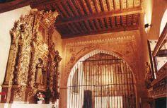 Imagen del interior de La Granja de Mirabel. Este palacio cacereño que llegó a ser residencia de los Reyes Católicos