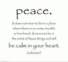 Vrede is hier en  nu