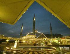 Faisal Mosque, Islamabad, Pakistan ...
