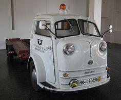 Tempo Matador - Prototyp Museum Hamburg deze Tempo's werden voortbewogen door een 24 pk VW motor uit de Kever.