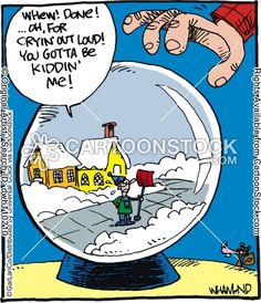 Snow Plow funny cartoons from CartoonStock directory - the world's largest on-line collection of cartoons and comics. Funny Cartoons, Funny Comics, Christmas Jokes, Christmas Comics, Christmas Scenes, Snow Plow, I Love To Laugh, Funny Signs, Funny Posts