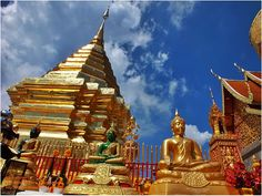 thailandhere: พระธาตุดอยสุเทพ เชียงใหม่ Phra That Doi Suthep Chi...