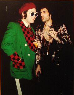 Elton John & Freddie Mercury