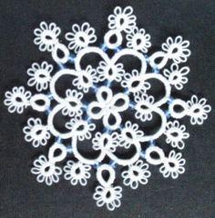 Tatting snowflake