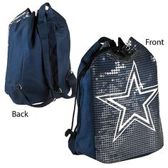 Dallas Cowboys Sequin Backpack