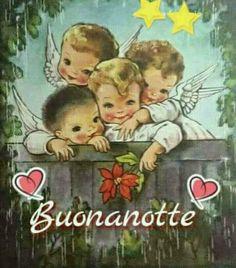 BUONANOTTE A DOMANI AMICI✨ Good Morning Good Night, Good Night Quotes, Good Day, Spanish Greetings, Greetings Images, Evening Greetings, Good Night Greetings, Italian Humor, Italian Quotes