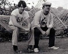 Dan Aykroyd and John Belushi (1949-1982)