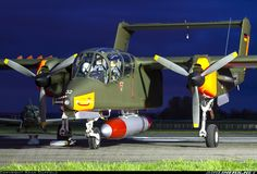 North American OV-10 Bronco G-BZGK. This aircraft crashed and was written off at Kemble, UK on July 11th, 2012