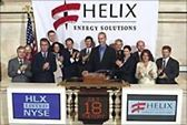 Helix Energy Solution's public listing on the NYSE. (HLX). http://www.helixesg.com/